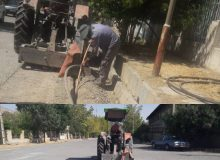 کابلکشی فیبرنوری در شهرک صنعتی کرمانشاه
